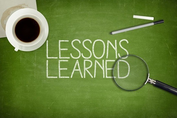 lessons i learned from