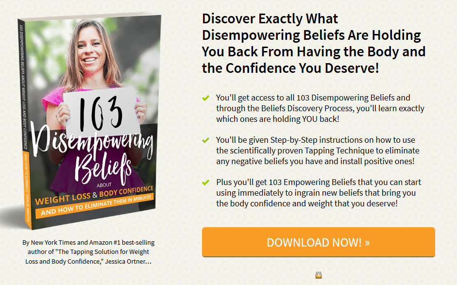 start losing weight with eft