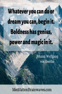 Johann Wolfgang von Goethe Quotes Whatever you can or dream you can