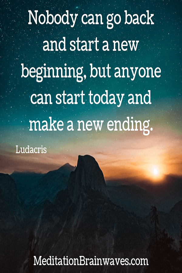 Ludacris nobody can go back and start a new beginning