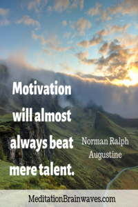 Norman Ralph Augustine motivation will almost always beat mere talent