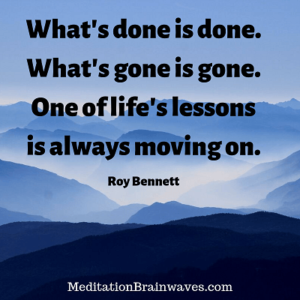 Roy Bennett what is done is done