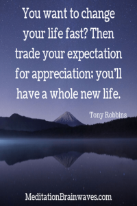 Tony Robbins you want to change your life fast