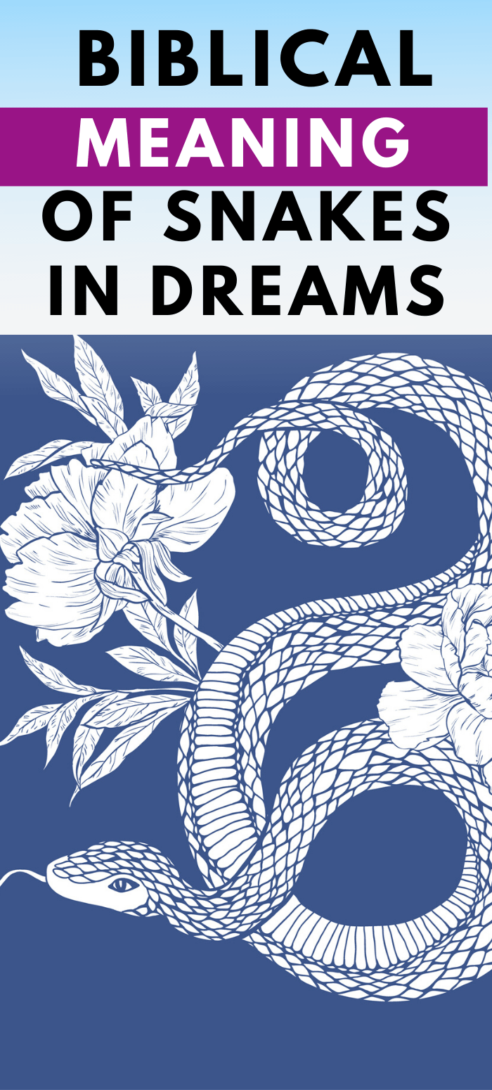 snakes in dreams bible