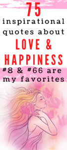 inspirational quotes about love and happiness