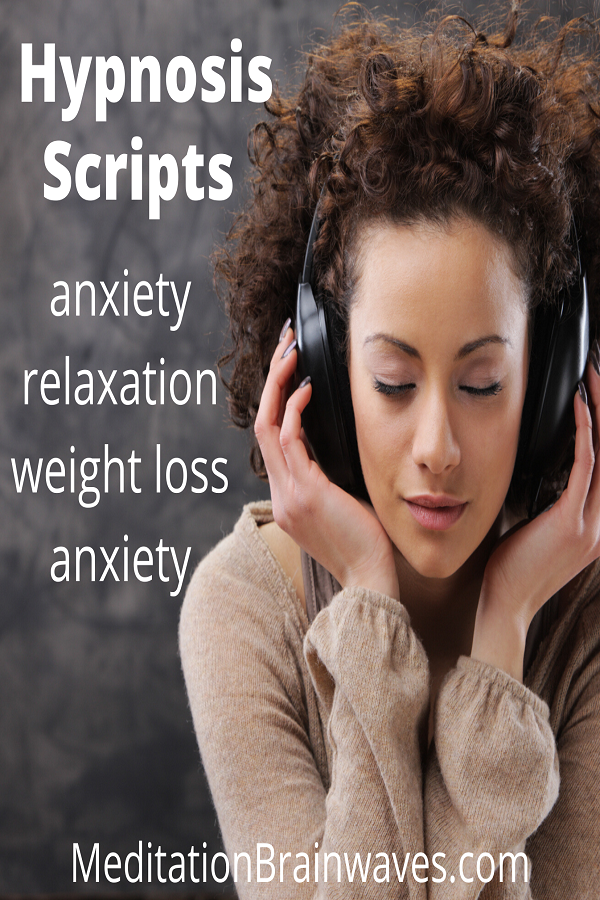 Hypnosis scripts weight loss anxiety