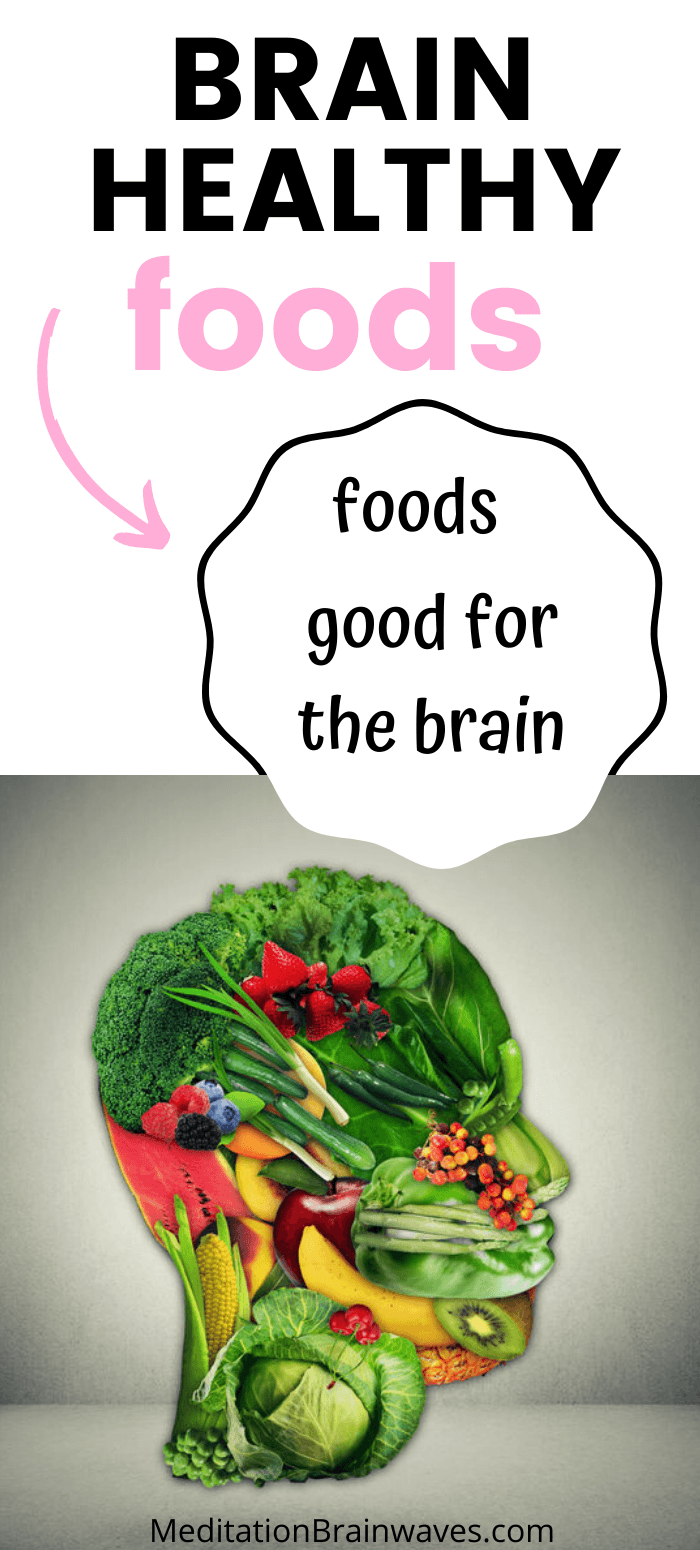 brain healthy foods pin
