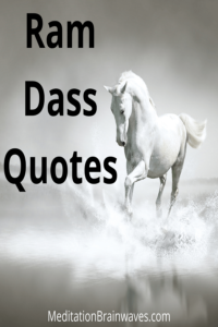 ram dass quotes and sayings
