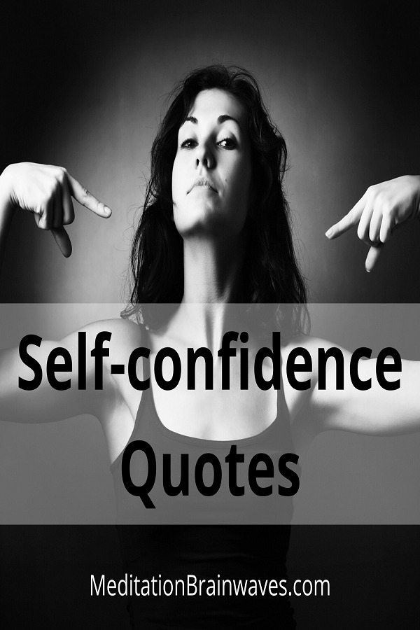 self confidence quotes