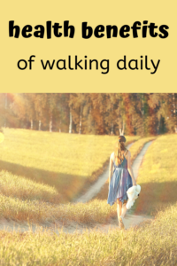 health benefits of walking daily