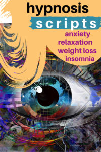 hypnosis scripts anxiety relaxation insomnia weight loss