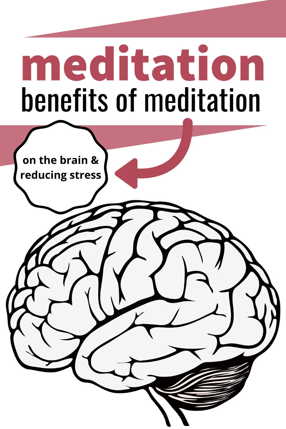 meditation helps brain and stress