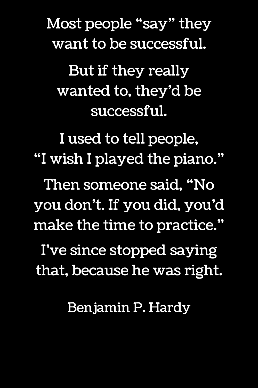 Benjamin P. Hardy quotes