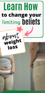 limiting beliefs about weight loss eft tapping