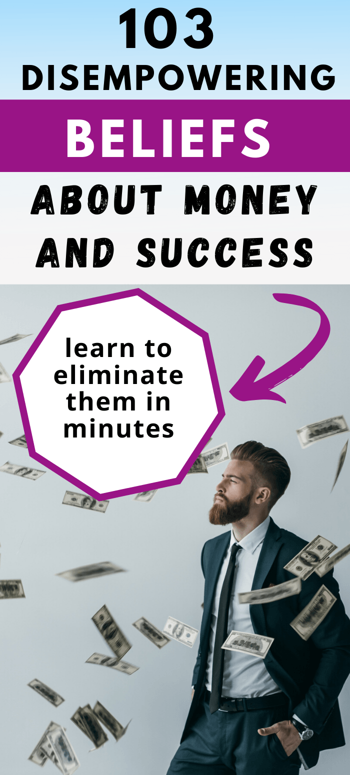 money beliefs eliminate them in minutes using eft tapping