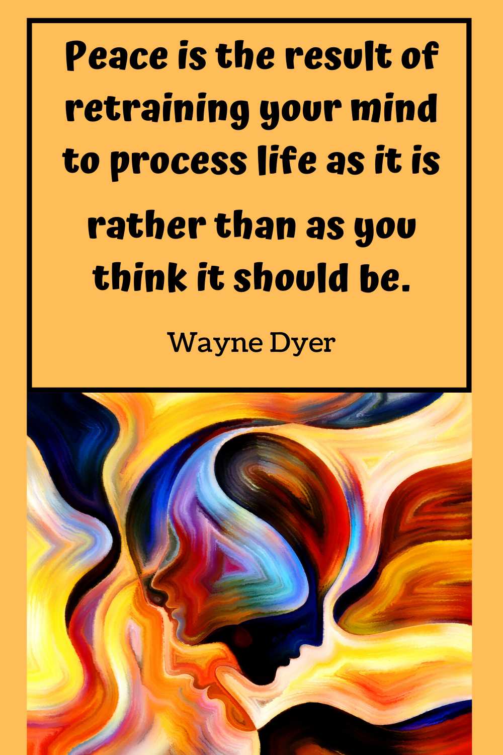 wayne dyer quotes peace
